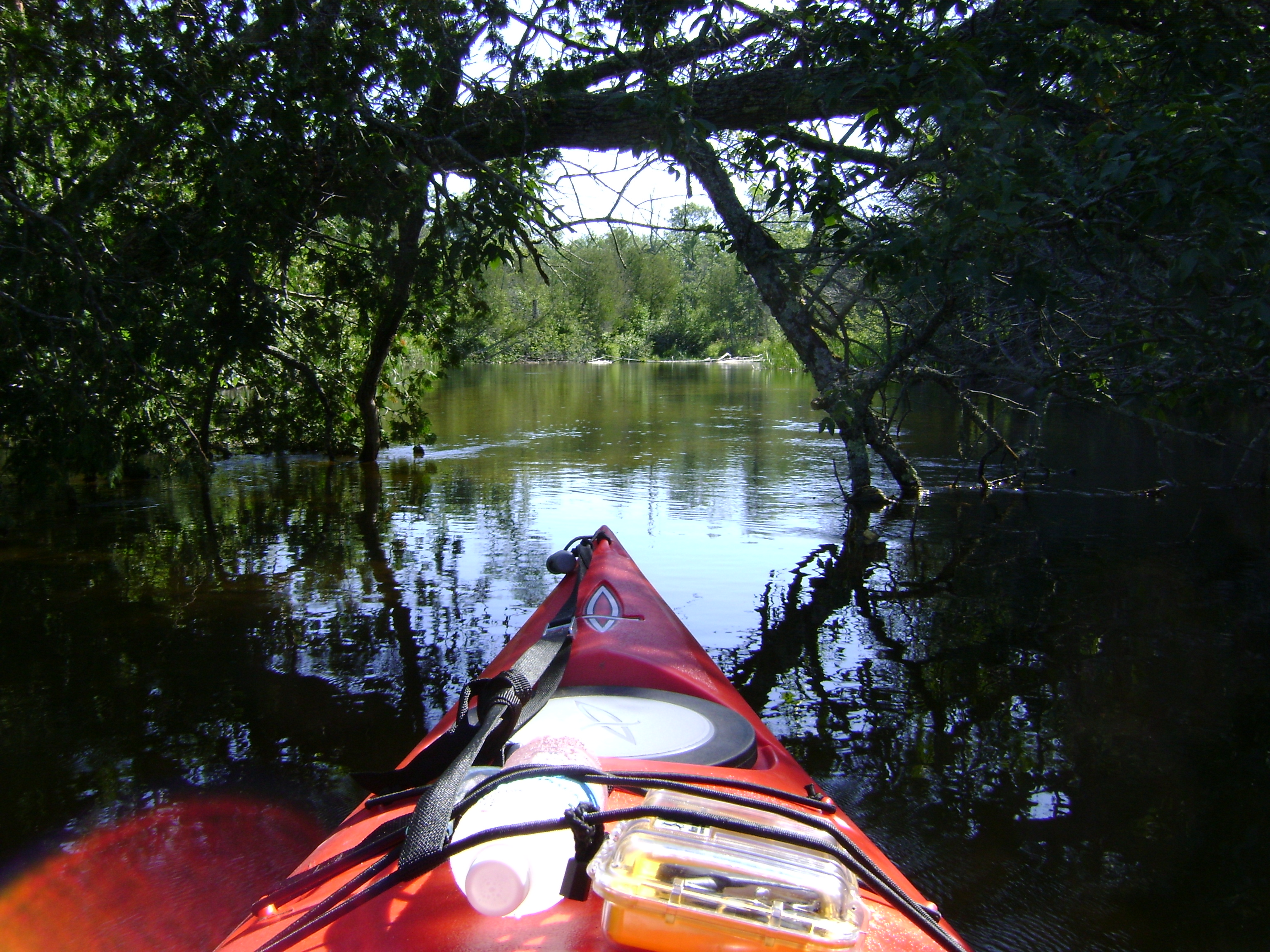 Kayaking in the U.P. in the Wonders of God's Creation